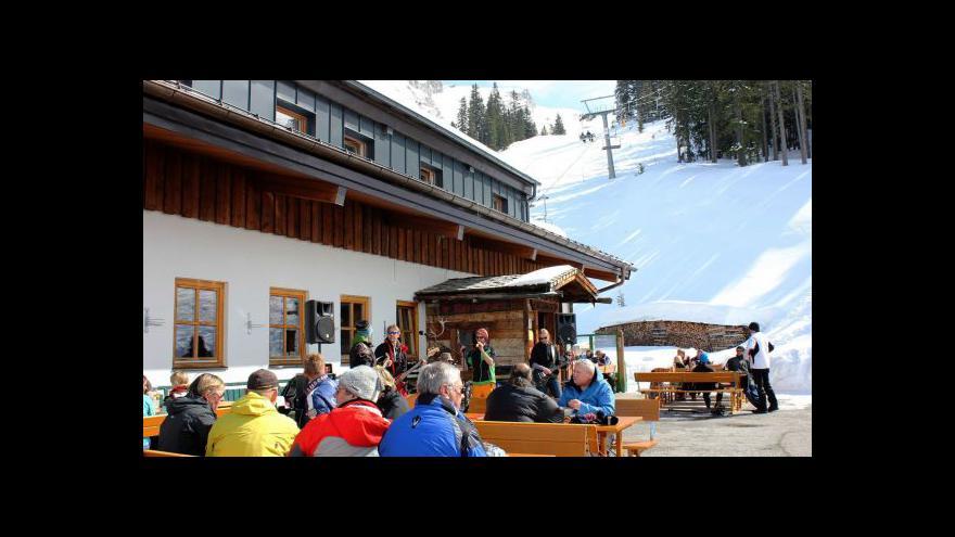 Video Alpská střediska přicházejí kvůli sankcím o ruské turisty