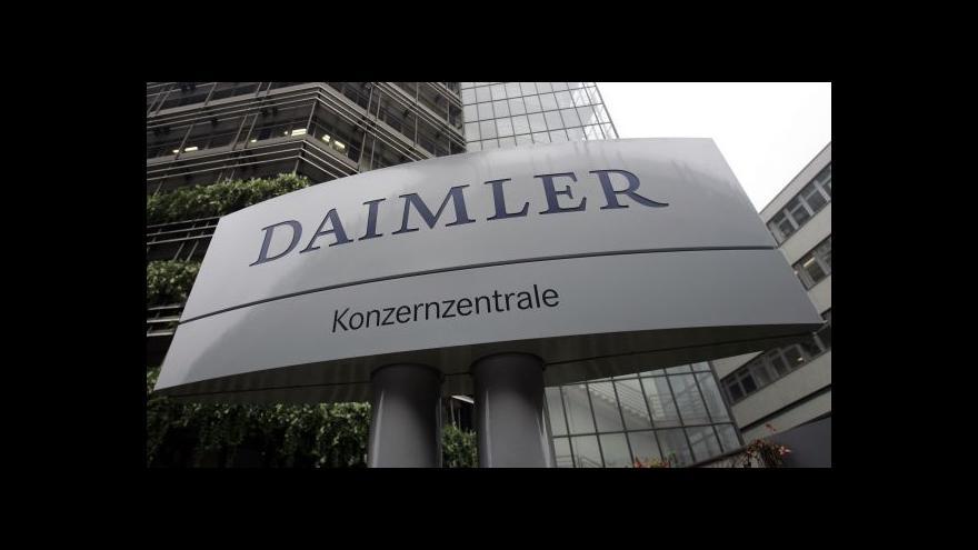 Video Evropská komise vyšetřuje kartel automobilek