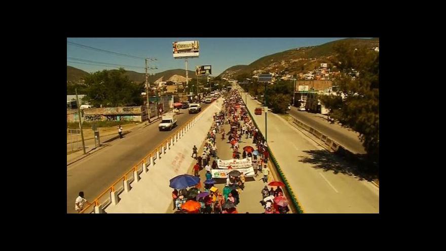 Video Demonstranti: V zemi není zajištěná bezpečnost