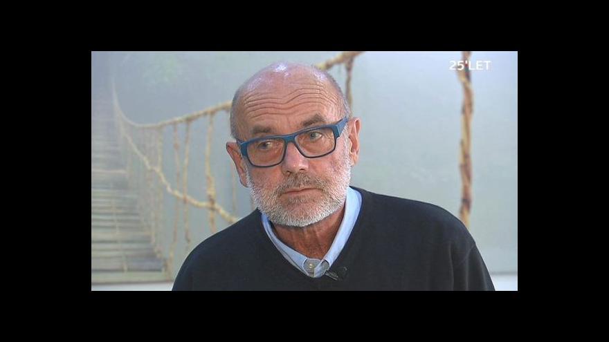 Video Ruml: Dodnes mám pocit, že jsem na schůzku místo Havla chodit neměl
