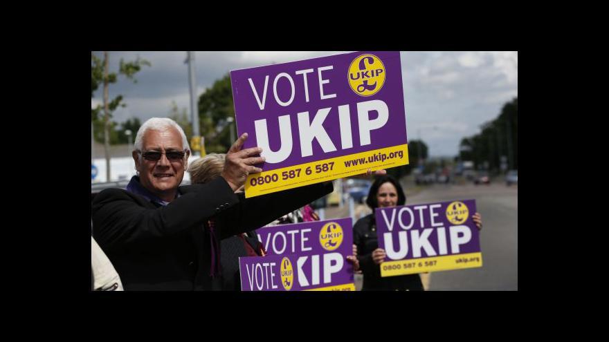 Video V doplňovacích volbách zvítězil UKIP