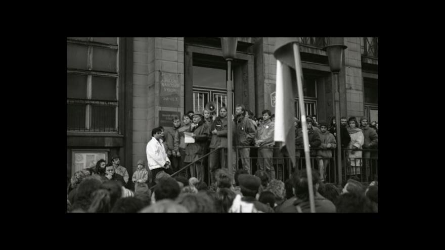 Video Revoluce 1989 v krajských městech