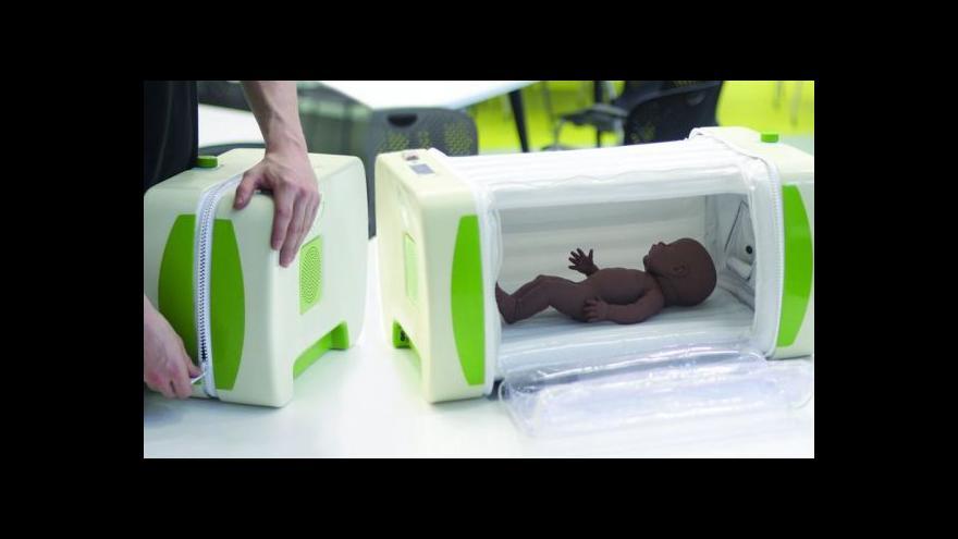 Video Britský student vynalezl nízkonákladový inkubátor
