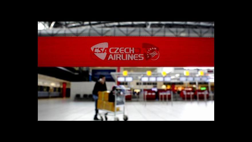 Video Menčík: ČSA by mělo hledat nové destinace