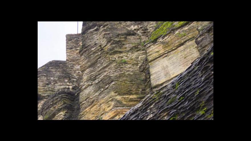 Video Zajištění opukových skal v Novém Městě nad Metují