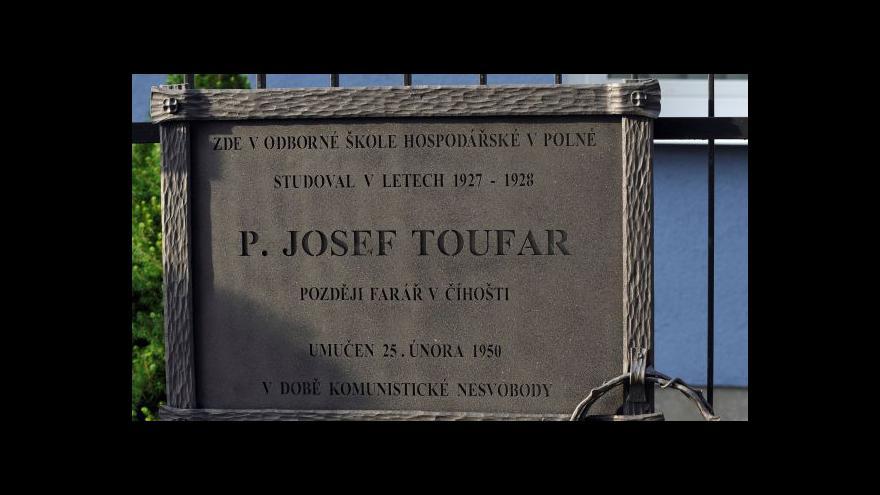 Video Události: Nalezné ostatky možná patří Toufarovi