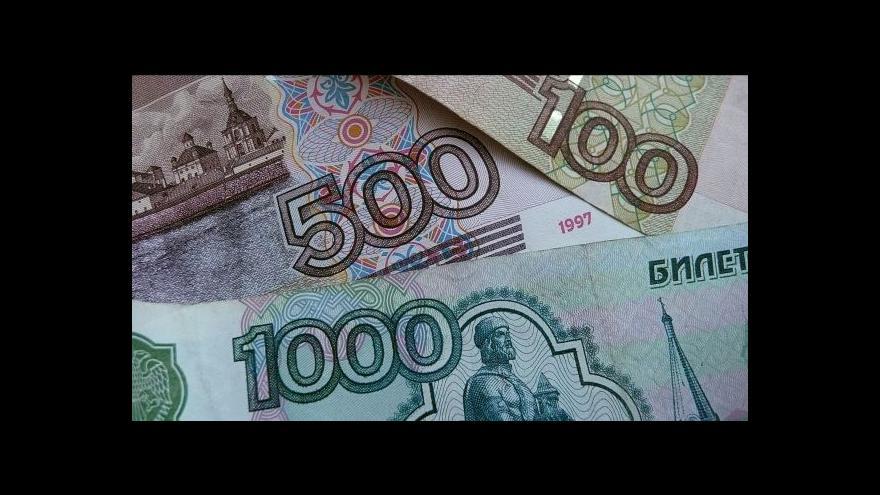 Video Zajíc: Projeví-li se sankce, bude to nejdřív ve finančním sektoru