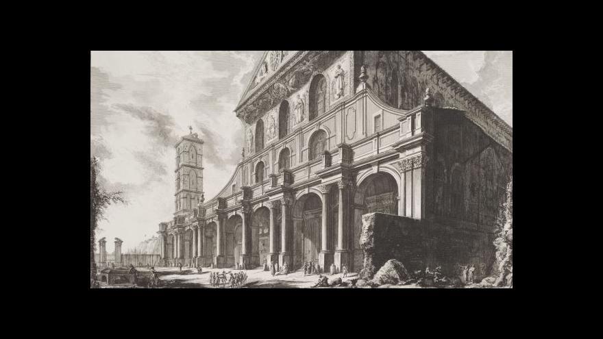 Video Národní galerie představuje barokního grafika Piranesiho