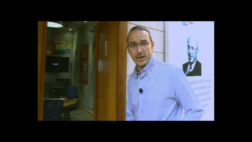 Video Jakub Szántó na výcvikové základně CyberGym