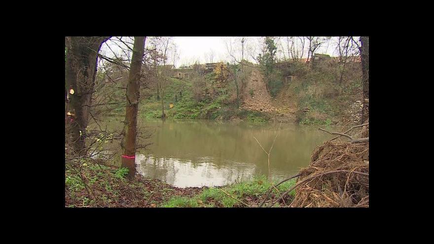 Video V Bulharech odkloní koryto řeky Dyje