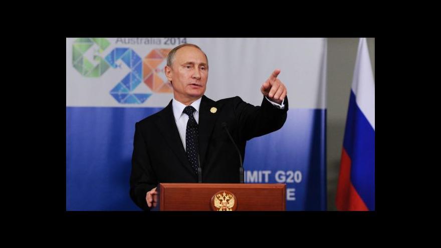 Video Ukrajinista: Putin bude chtít koridor na Krym