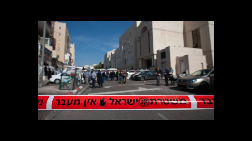Video Šest mrtvých po útoku v Jeruzalémě