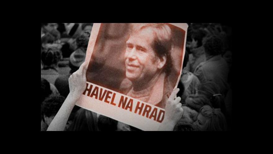 Video Václav Havel byl největší postavou revolučních týdnů