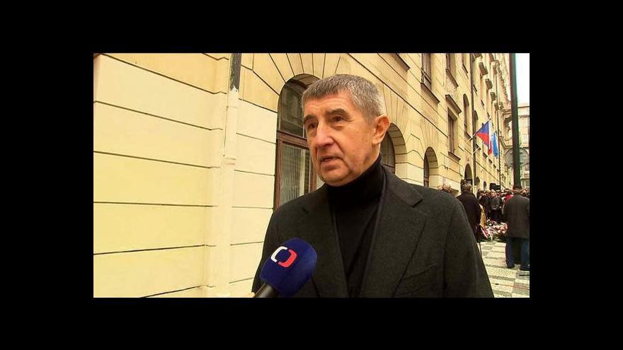 Video Andrej Babiš: 17. listopad je pro mě nejvýznamnějším svátkem