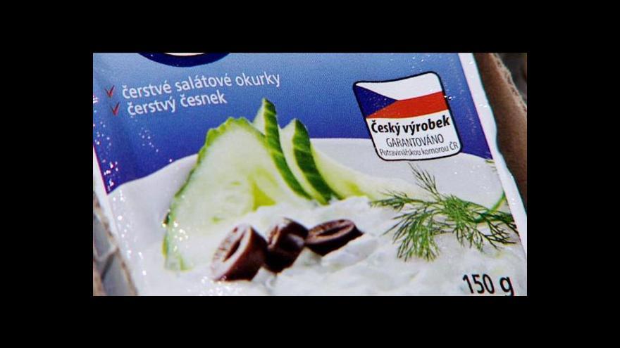 Video Potravinářská komora má své vlastní značení původu