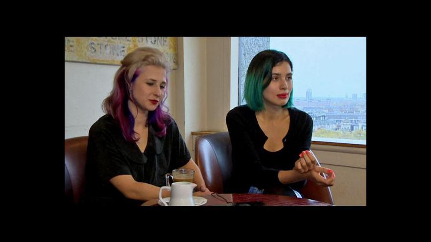 Video Exkluzivní Interview ČT24 se členkami Pussy Riot