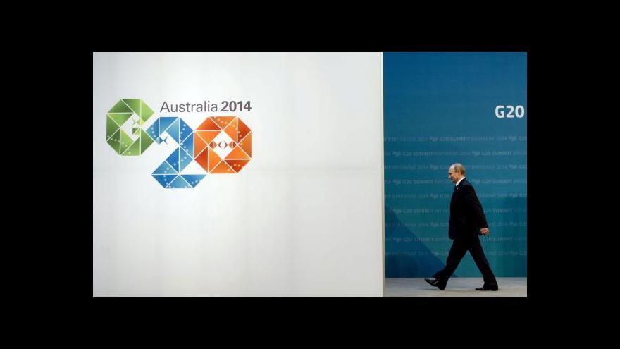 Video Ukrajinská krize provází Putina na summitu na každém kroku