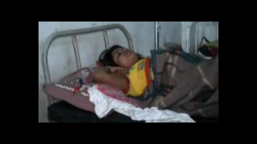 Video Indická policie zabavila pochybný lék a zatklla jeho výrobce