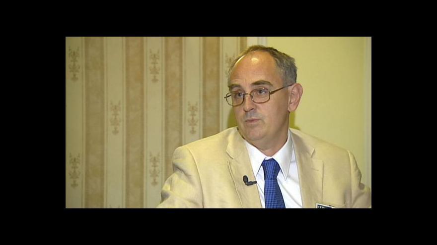 Video Rozhovor Martina Řezníčka s Edwardem Lucasem
