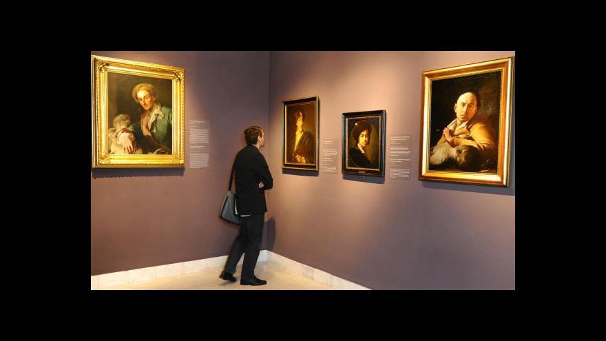 Video Moravská galerie v Brně vystavuje díla Jana Kupeckého