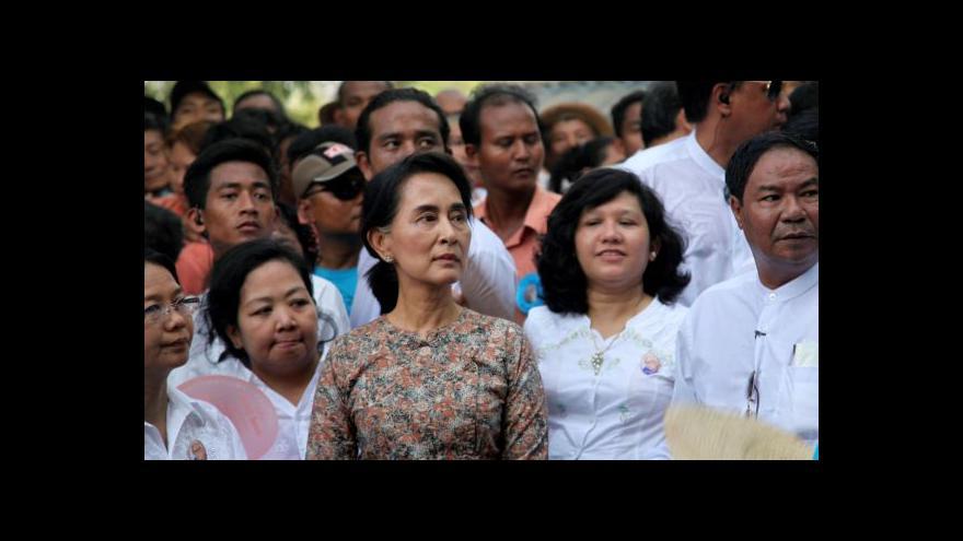 Video Su Ťij: Barmská cesta k demokracii je hrbolatá