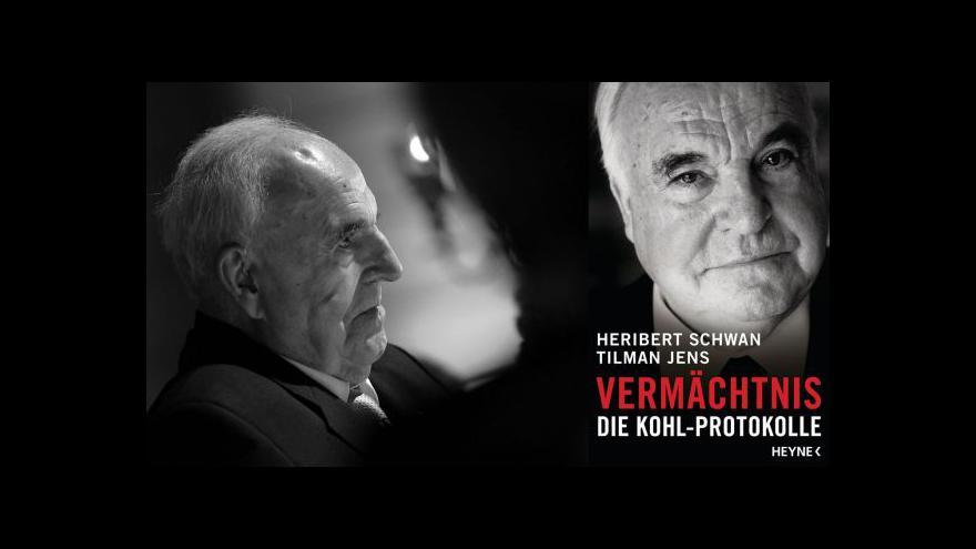 Video Události: Kohl bojuje o svůj odkaz