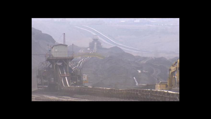 Video Litvínov chce zachovat limity těžby a zvýšit poplatky těžařů