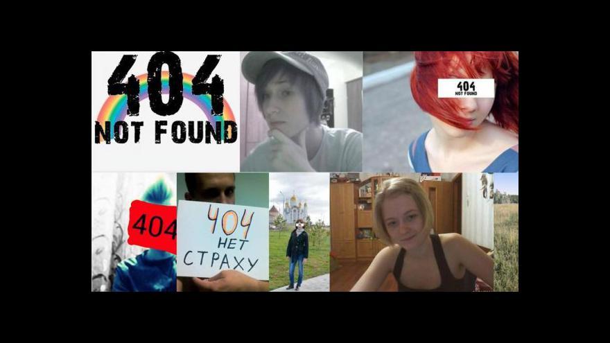 Video Ruské školy pronásledují homosexuální děti