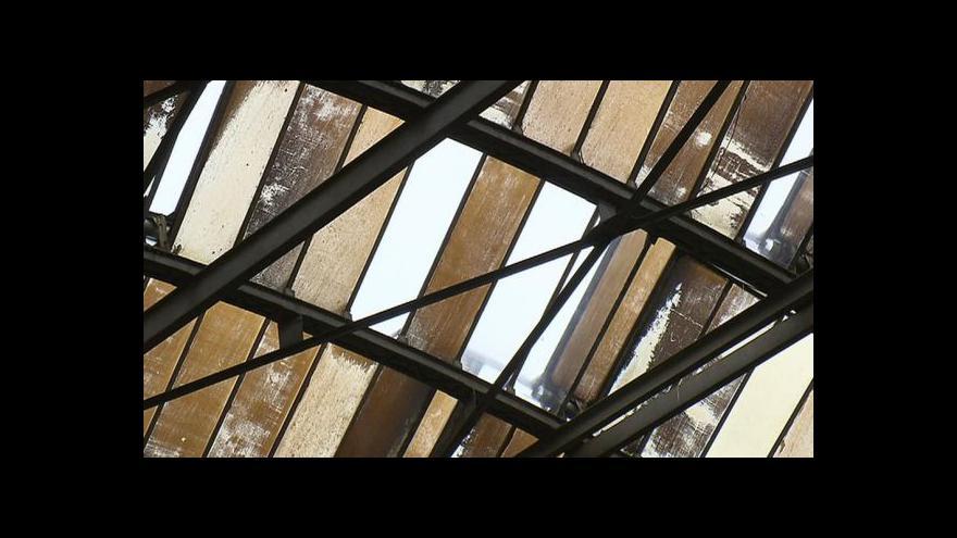 Video Oprava dvorany hlavního nádraží začne příští rok