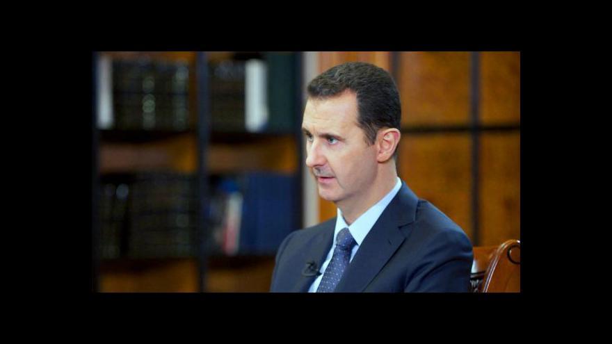 Video Změna strategie? USA se chtějí zbavit Asada