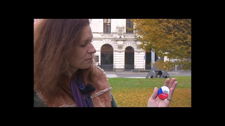 Video Sametové minuty: Simona Hradílková vzpomíná na listopad 1989