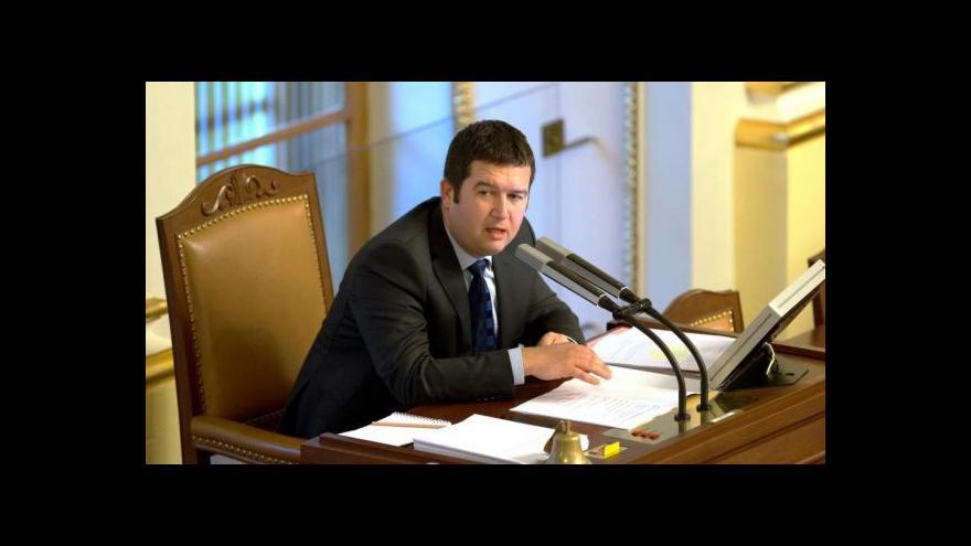 Video Jan Hamáček: Není pravdou, že by se s ruskými politiky nikdo nebavil