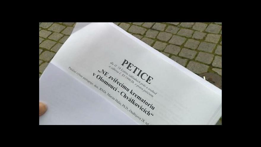 Video Bude v Olomouci zvířecí krematorium?