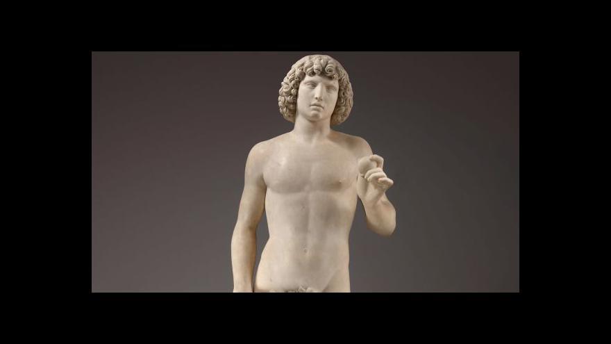 Video Roztříštěná socha Adama se po 10 letech vrací na své místo