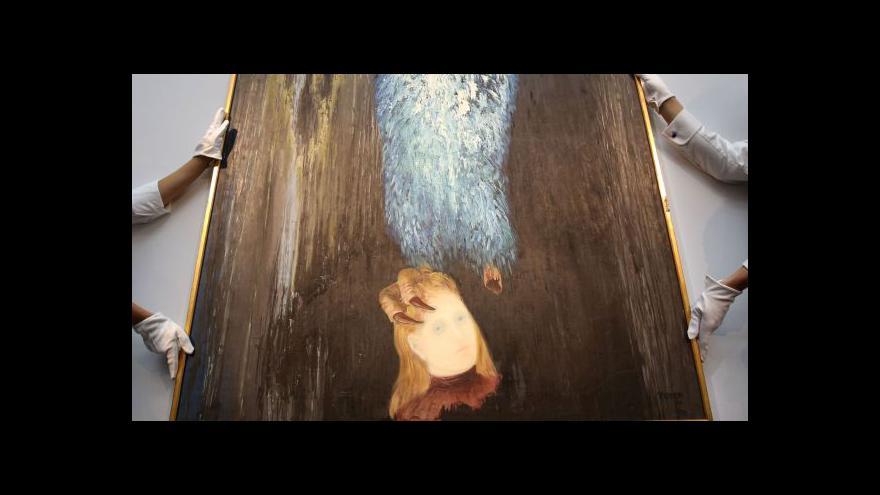 Video Sotheby's dražila české umění