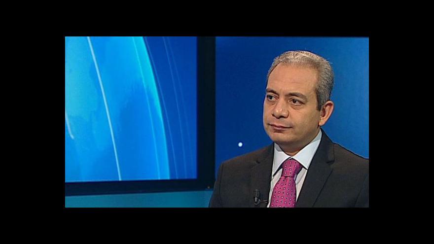 Video Šéf zpravodajství Al-Džazíry exkluzivně pro ČT