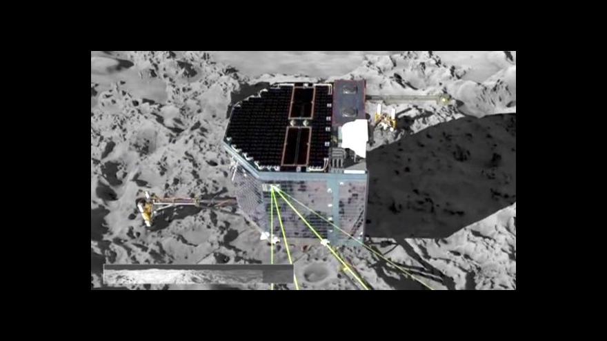 Video Horizont ČT24 k historickému přistání na kometě