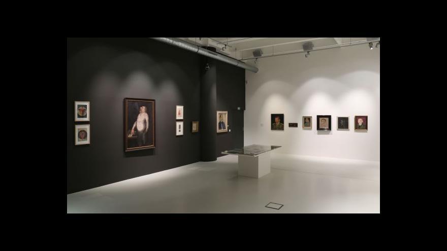 Video Básníci Nezval a Kuběna ve Zlíně malují
