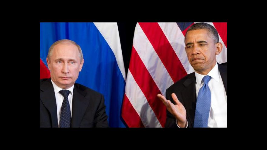 Video Komunikace mezi Obamou a Putinem evidentně vázne