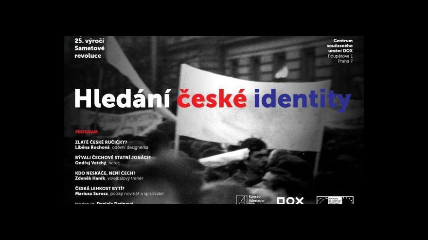Video Záznam diskuse: Hledání české identity