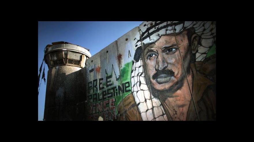 Video Horizont ČT24: Deset let od Arafatovy smrti
