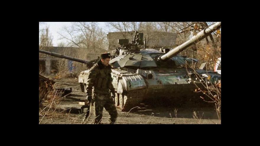 Video Napětí v Donbasu dál stoupá navzdory příměří