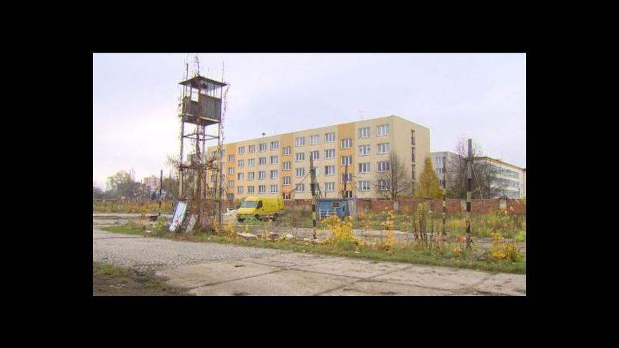 Video Bourání kasáren v Českých Budějovicích