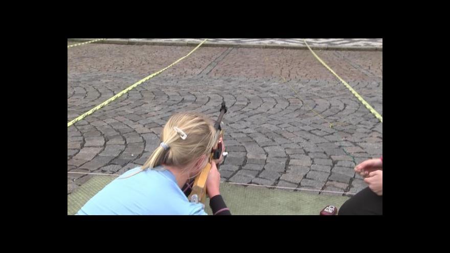 Video Orientační biatlon v Jilemnici