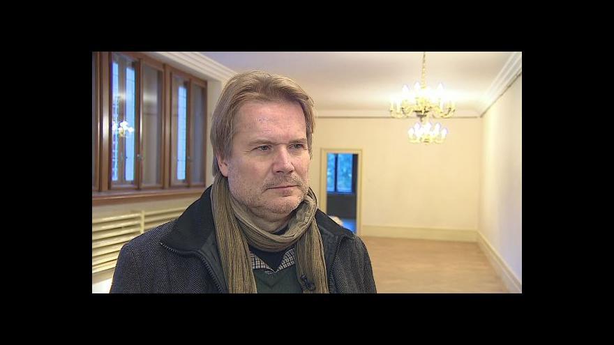 Video O obnově vily Stiassni hovoří památkář Petr Kroupa