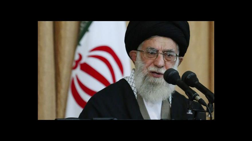 Video Politolog: Chameneího slova nebudou mít žádný důsledek