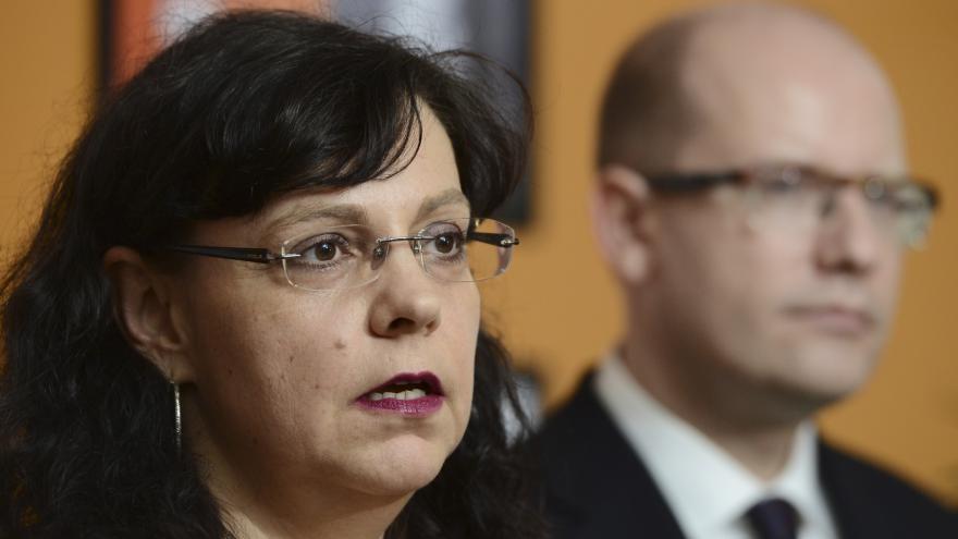 Video Premiér Sobotka hodnotil práci MPSV