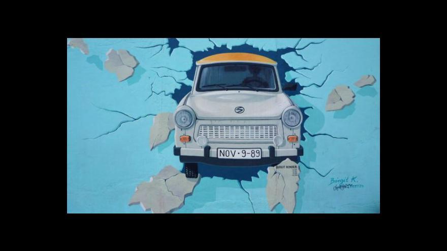 Video Co zbylo z Berlínské zdi po 25 letech