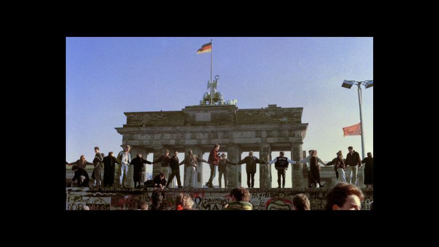 Video V Berlíně začínají oslavy 25 let od pádu komunismu