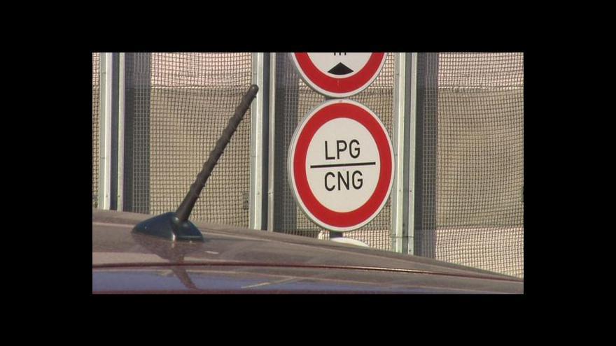 Video Události ČT: Potíže vozů na plyn